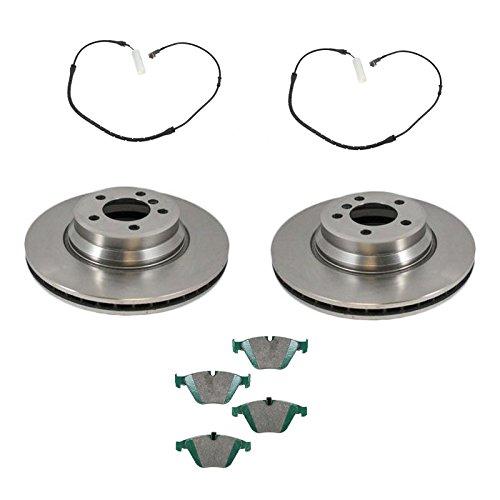 - Front Disc Brake Pads & Rotors w/ Wear Sensors Kit Set for BMW E65