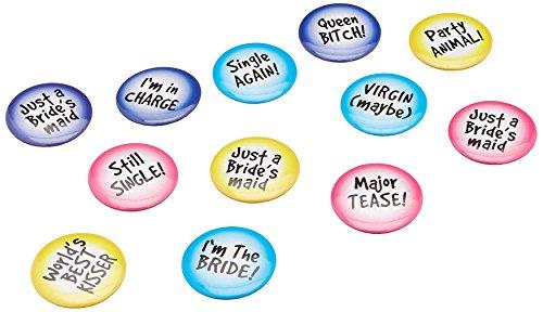 Bachelorette Party ID Buttons Set