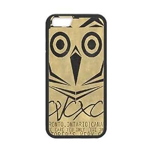 iPhone6 Plus 5.5 inch Phone Case Black Drake Ovo Owl MHF9921920