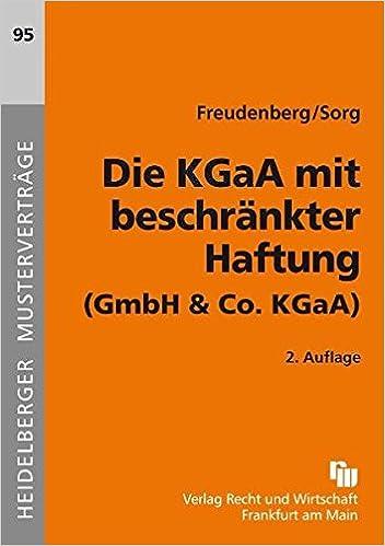 Die Kgaa Mit Beschränkter Haftung Gmbh Co Kgaa Heidelberger
