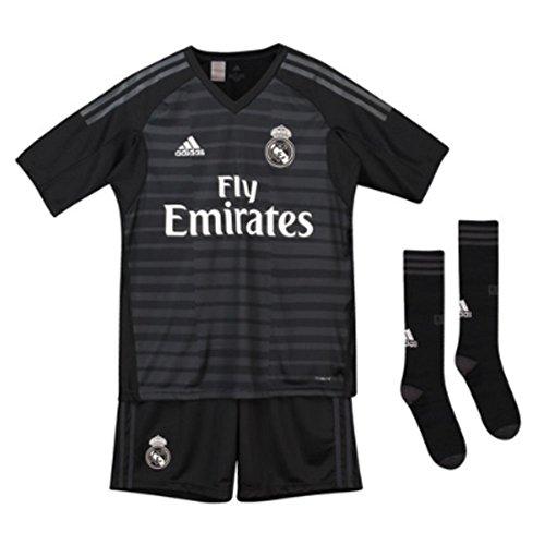 Goalkeeping Graphic Jersey (adidas 2018-2019 Real Madrid Home Goalkeeper Full Kit (Kids))