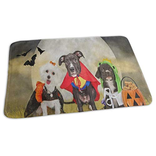 Changing Pad Hipster Puppy Dog Dressed in Halloween Costumes Baby Diaper Incontinence Pad Mat Hot Adults Waterproof Sheet Sheet for Any Places for Home Travel Bed Play Stroller Crib -