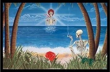 FRAMED Grateful Dead Sunshine Daydream 36x24 Art Print Poster Wall Decor Music Rock Album Surreal Tropical  sc 1 st  Amazon.com & Amazon.com: FRAMED Grateful Dead Sunshine Daydream 36x24 Art Print ...