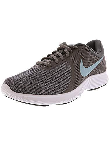 Nike Women's Revolution 4 Running Shoe Gunsmoke/Ocean Bliss/Dark Grey Size 8 M US