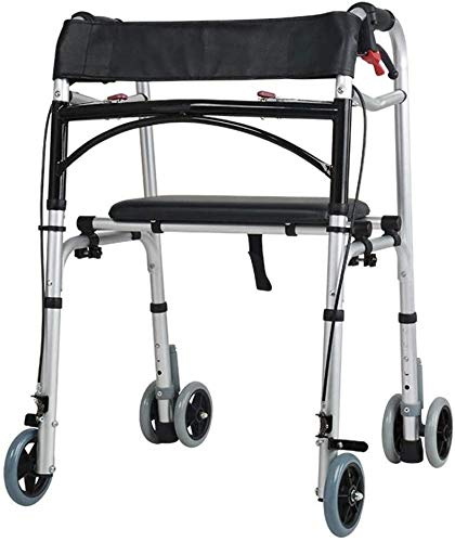 SISHUINIANHUA Andador SIDA Drive Medical Andador Plegable Walker ...