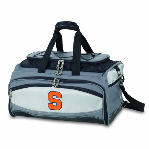 NCAA Syracuse Orange Buccaneer Tailgating Cooler with Grill by PICNIC TIME