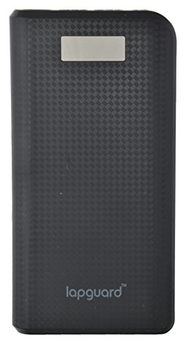 Lapguard LG807 Power Bank 20800mAh Make In India portable charger Powerbank -Black
