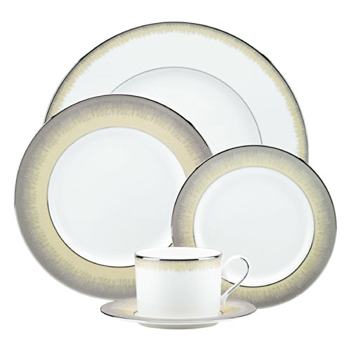 Taupe 5 Piece Place Setting - 8