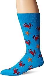 Best Mens Crab And Starfish Crew Socks