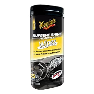 Meguiar's G4000 Supreme Shine Hi-Gloss Wipes (25 wipes)