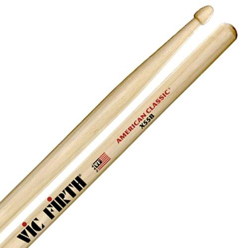 American Classic 5b Drumsticks (Vic Firth X55B American Classic Extreme 55B Drumsticks)