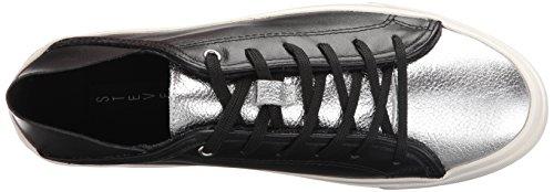 STEVEN by Steve Madden Womens Vertue Fashion Sneaker Black/Multi 3UKnNt