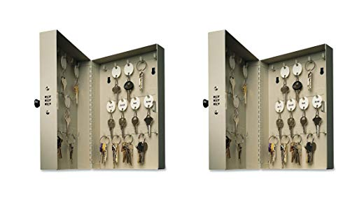 28 Hook Key Cabinet - MMF Industries Hook Style 28 Key Cabinet, 1 Each (201202889) (Pack of 2)