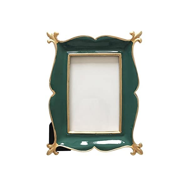 BeneAlways American Village Style Photo Frame Polyresin Picture Frame for Photo Lovers (Rectangle)