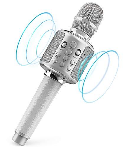 Wireless Karaoke Microphone Bluetooth