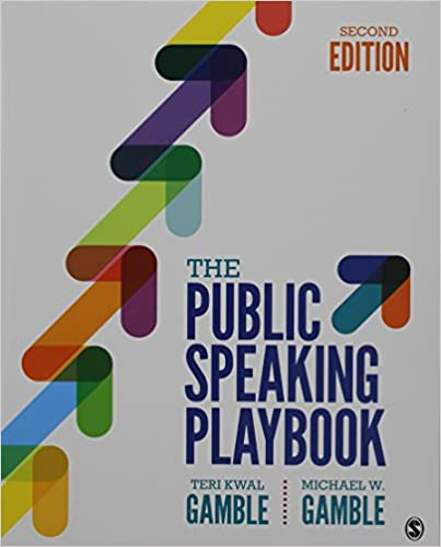 The public speaking playbook teri kwal gamble michael w gamble the public speaking playbook 2nd edition fandeluxe Image collections