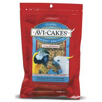 Lafeber's Avi-Cakes for Macaws / Cockatoos 1lb. Package, My Pet Supplies
