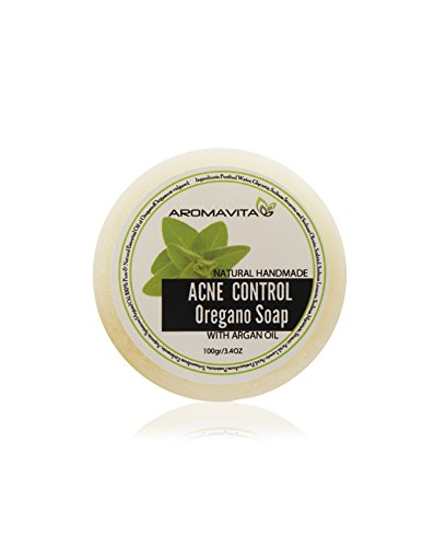 Facial Acne Control Soap with Oregano & Argan Oils. 100% Natural.