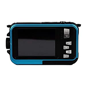 GordVE Double Screens Waterproof Digital Camera 2.7-Inch Front LCD with 2.7inch Camera Color4
