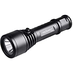 ORCATORCH D500 is a portable magnetic controlled flashlight for professional diving use. It is equipped with a totally sealed magnetic controlled side switch that provides flexible operation underwater. Using the latest USA CREE XM-L2 (U2) LE...