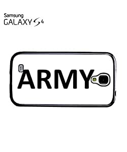 Army Soldier Mobile Cell Phone Case Samsung Galaxy S4 Black