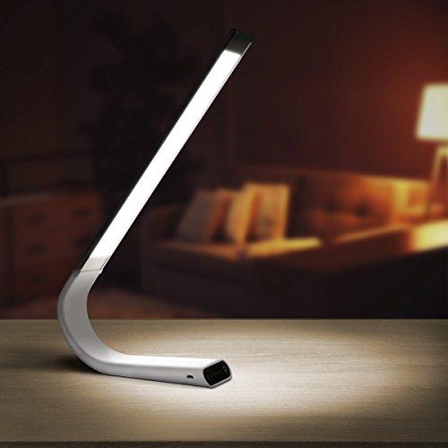 Luxe Lamp Lxlamprg Cordless Eye Friendly Led Desk Lamp
