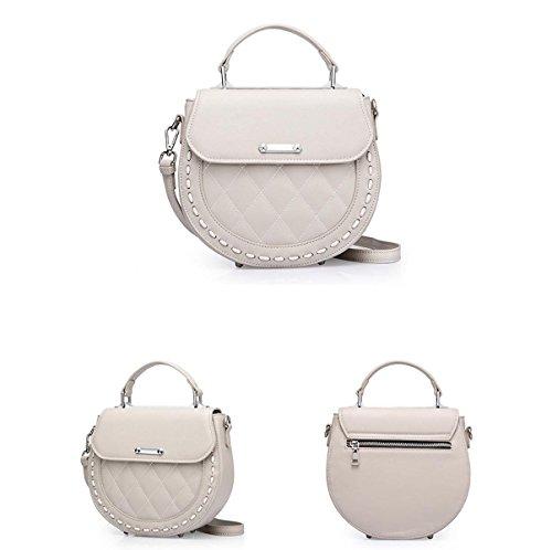 PU Style Main sac Bandoulière à white à Sac Sac Femme Bandoulière Simple Nouveau w645SZqE