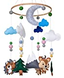 Woodland Animals Crib Mobile by Nested Chick