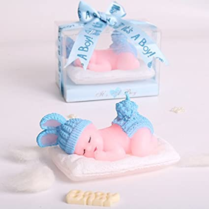 AiXiAng Handmade Adorable Sleeping Baby Boy Its A Style Shower Birthday Party Cake