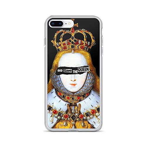 iPhone 7 Plus/8 Plus Pure Clear Case Cases Cover Good Queen Bess