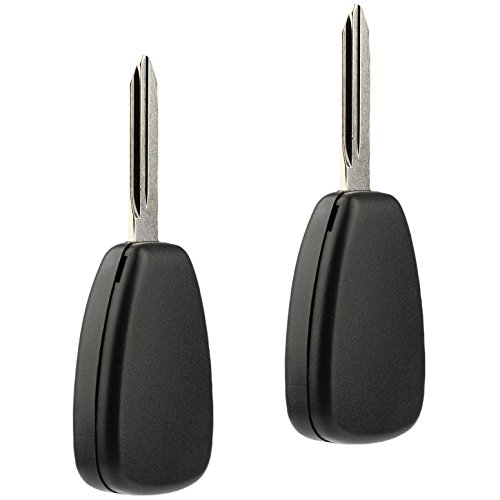Car Key Fob Keyless Entry Remote fits Chrysler Aspen Pt Cruiser / Dodge Caliber Dakota Durango Magnum Nitro Ram / Jeep Compass Patriot Wrangler / Mitsubishi Raider (OHT692427AA 3-btn), Set of 2 by USARemote (Image #2)