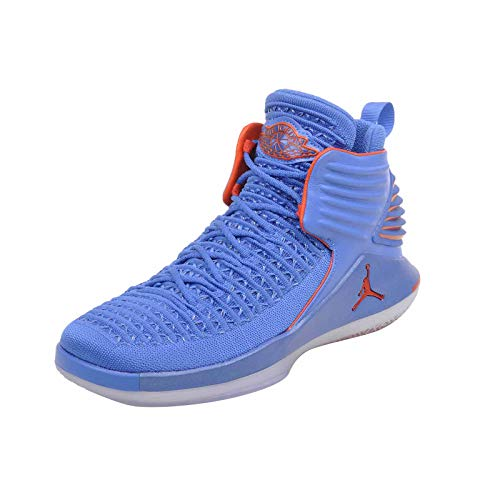 - NIKE Youth Air Jordan 32 BG AA1254 400 Blue/Orange (6.5y)