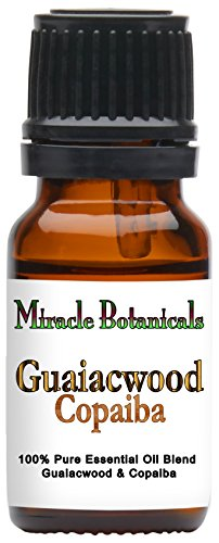 Guaiacwood Essential Oil - Miracle Botanicals Guaiacwood & Copaiba Essential Oil Blend - 100% Pure Therapeutic Grade Essential Oils 10ml