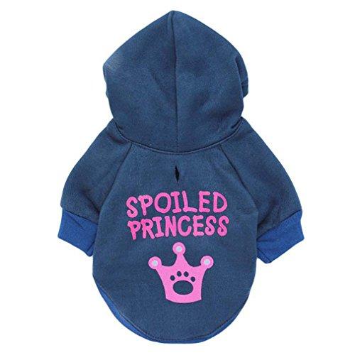 Royal Blue Dog Fleece Pullover - 7