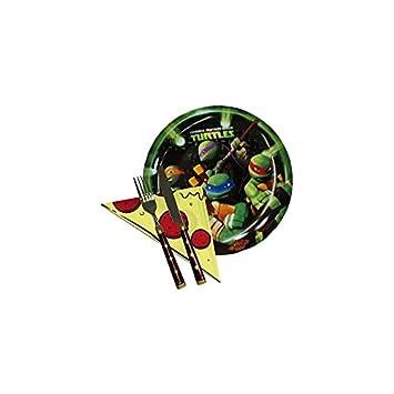 TORTUGAS NINJA SET DE PIZZA EN CAJA DE REGALO: Amazon.es ...