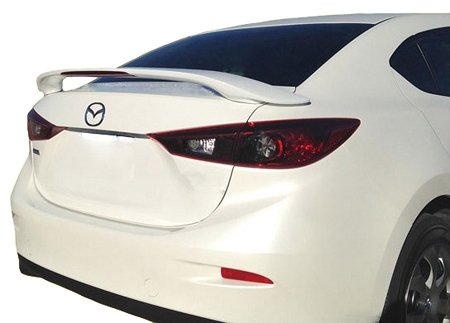 Factory Style Spoiler made for the Mazda 3 Painted in the Factory Paint Code of Your Choice 312 38R