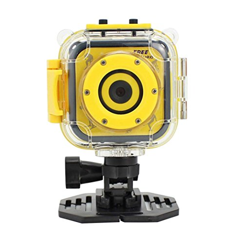 Rambly Kids Camera Waterproof Digital Video HD Action Camera 1080P Sports Camera (Olympus Gadget Bag)