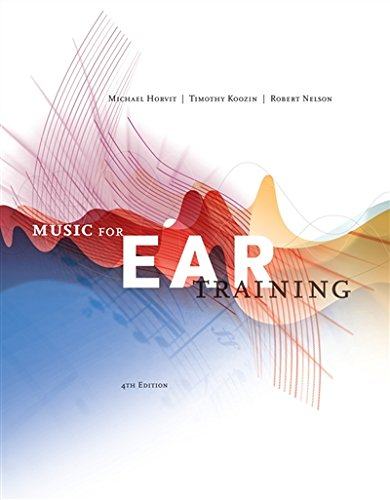 840029810 - Music for Ear Training (with Premium Website Printed Access Card)