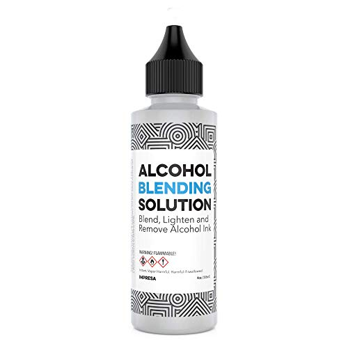 (4 oz Alcohol Blending Solution - Compatible with Adirondack (R) Alcohol Ink Colors - Multipurpose, Compatible with All Brands - Made in The USA)