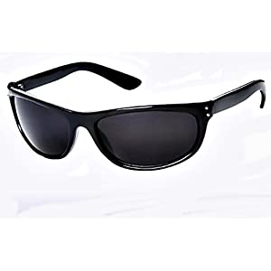 Super Dark MIB Sunglasses Classic Black SD Lens Max UV Protection