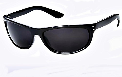 Super Dark MIB Sunglasses Classic Black SD Lens Max UV - Men Black Sunglasses In