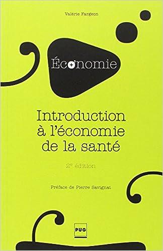 En ligne téléchargement Introduction à l'économie de la santé pdf epub
