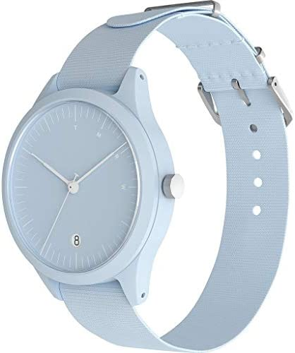 TMRW Minimalist Watch | Nylon Watch Band - Sky