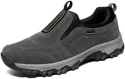 幅広 ハイキングシューズ スリッポン クライミングシューズ メンズ アウトドアシューズ トレッキングシューズ 防滑 歩きやすい 黒 グレー ネイビー ローカット ウォーキング シューズ 靴 メンズ スニーカー [イノヤ]