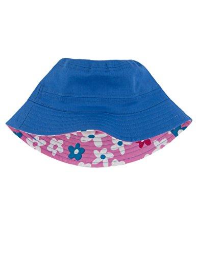 Hatley Girls Sun Hat- Summer Garden Size: S (2-4) (Hatley Summer Garden)