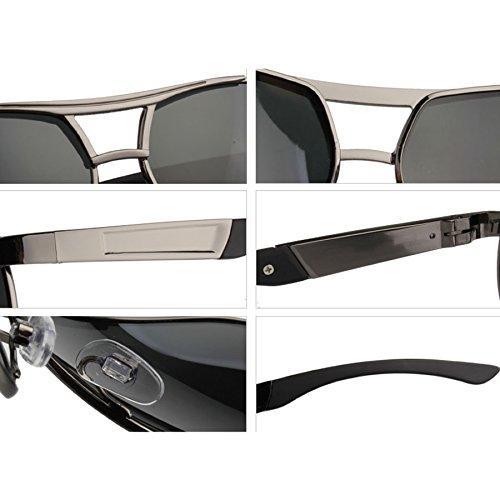 A Color Hombre Rana Sol Conducción Polarizador Espejo Gafas Hipster Cool Espejo Gafas Gafas Coating Sol Espejo Driver de de Sol de de C xw8TqWRpB