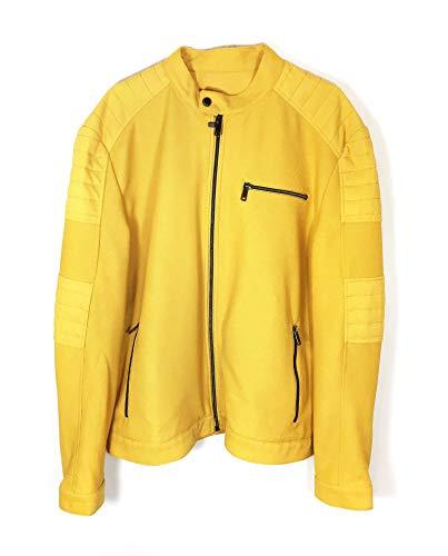 Zara Men Pique Biker Jacket 0706/454 (X-Large) for sale  Delivered anywhere in USA