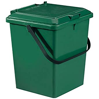 Graf - Cubo para compostaje (8 L), color verde: Amazon.es ...