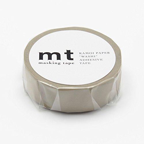"""MT Solids Washi Paper Masking Tape, 3/5"""" x 11 yd, Beige (MT01P200)"""