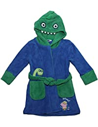 GEORGE PIG Peppa Pig Safari Dressing Gown with Dinosaur Hood